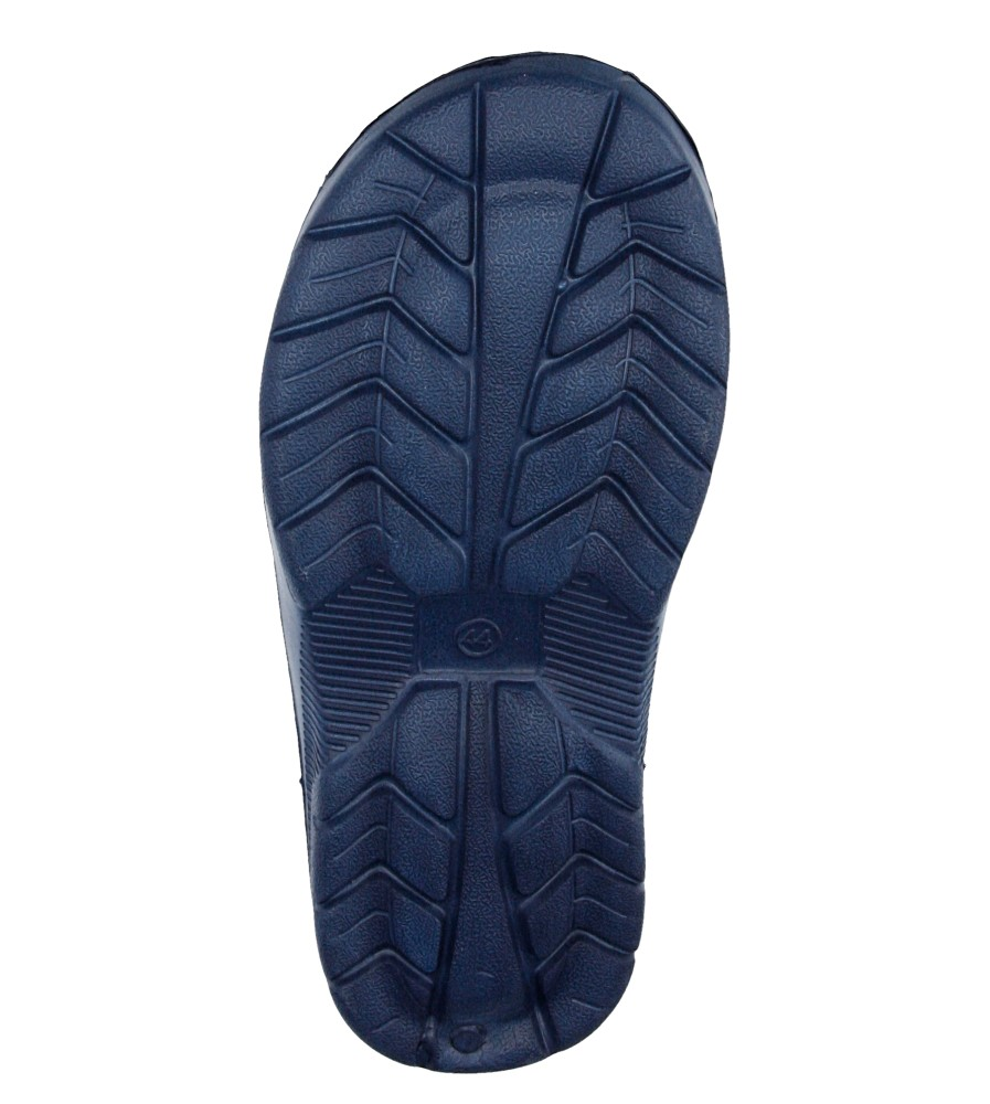 Męskie KLAPKI HASBY K812 niebieski;;