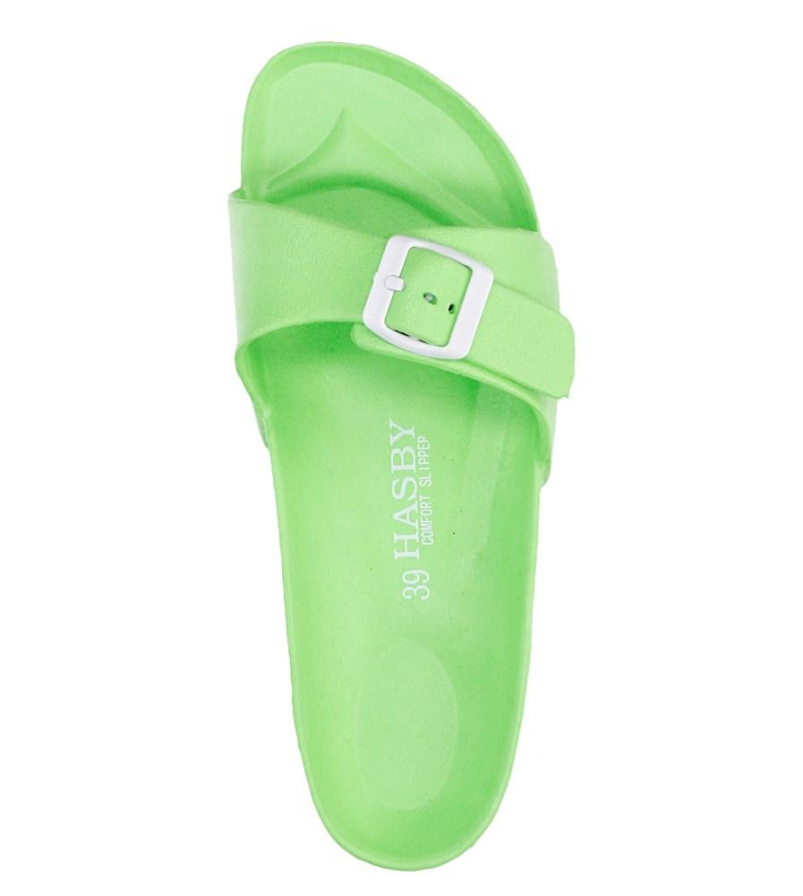Damskie KLAPKI HASBY K804 zielony;;