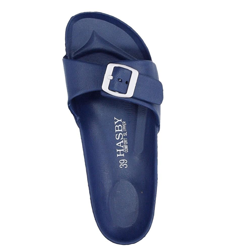 Damskie KLAPKI HASBY K804 niebieski;;