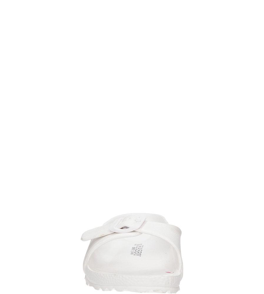 Damskie KLAPKI HASBY K804 biały;;