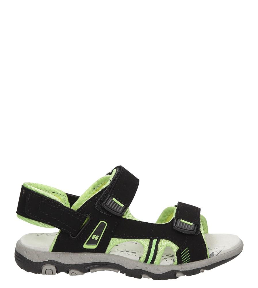 Dziecięce SANDAŁY HASBY S1992 czarny;zielony;