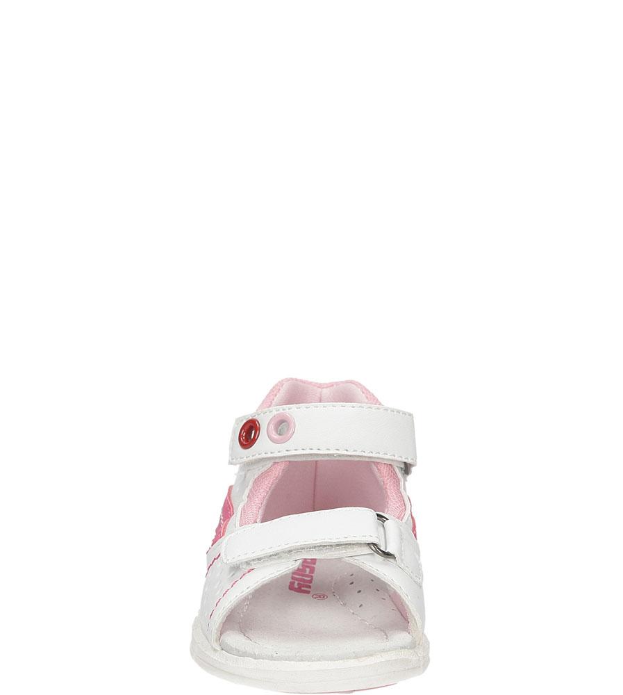Dziecięce SANDAŁY HASBY S1988 biały;różowy;