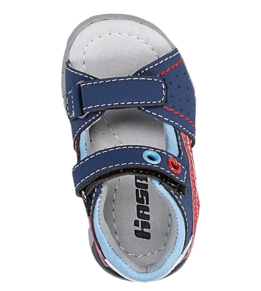 Dziecięce SANDAŁY HASBY S1988 niebieski;;
