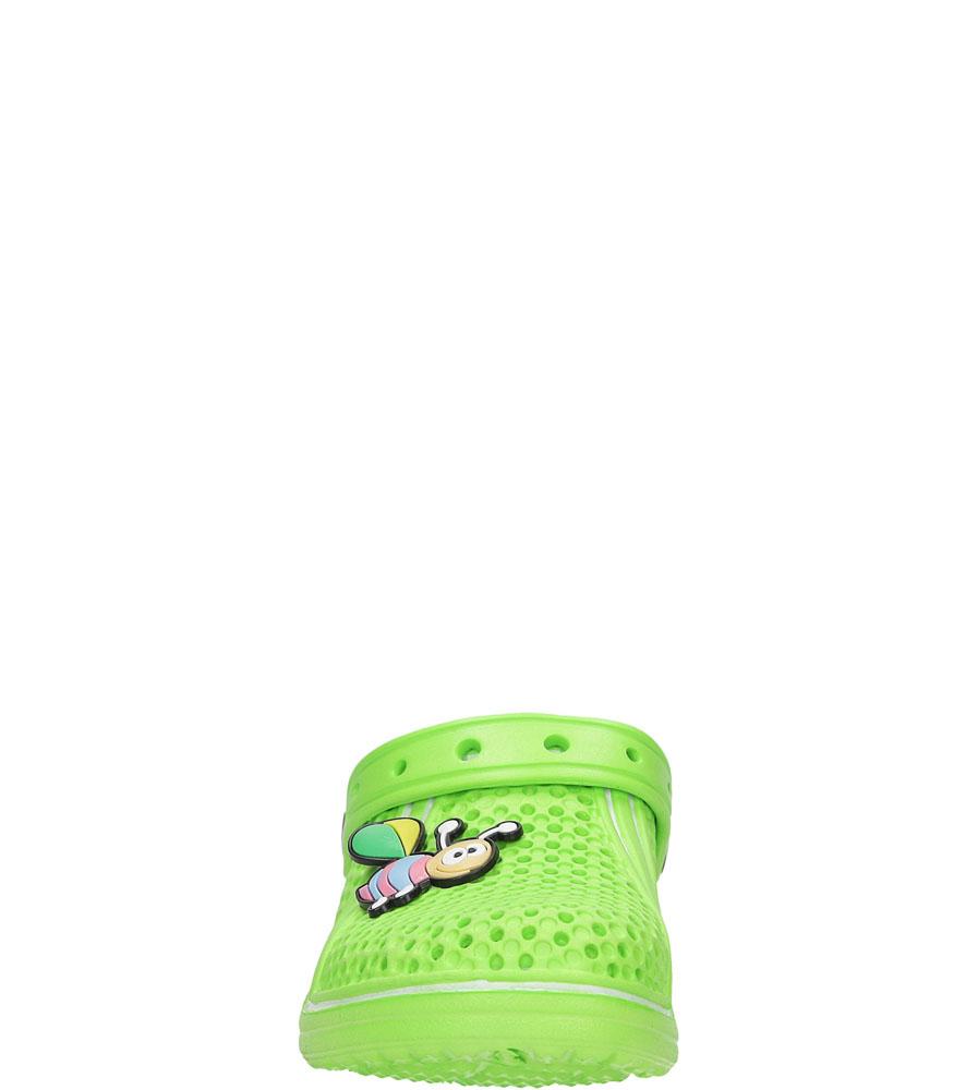 Dziecięce KLAPKI K819 zielony;;