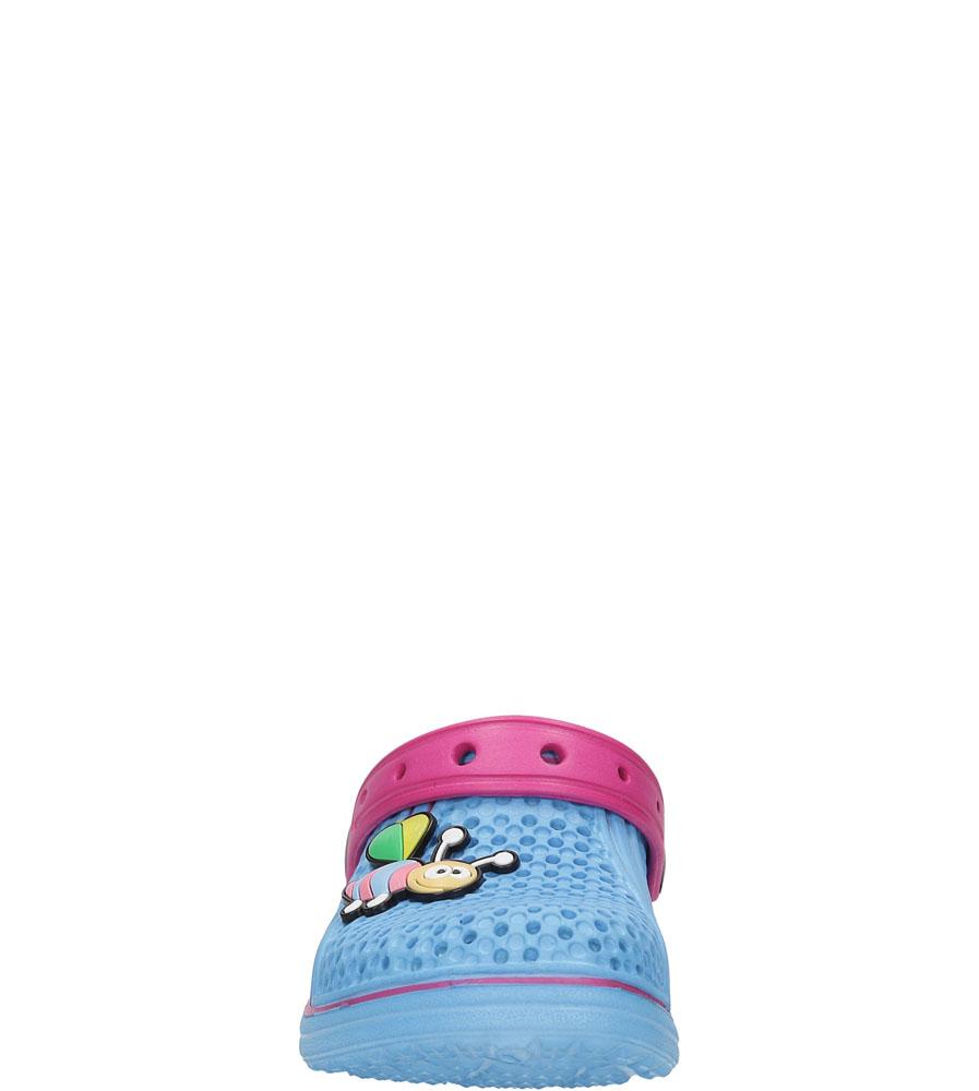 Dziecięce KLAPKI K819 niebieski;różowy;