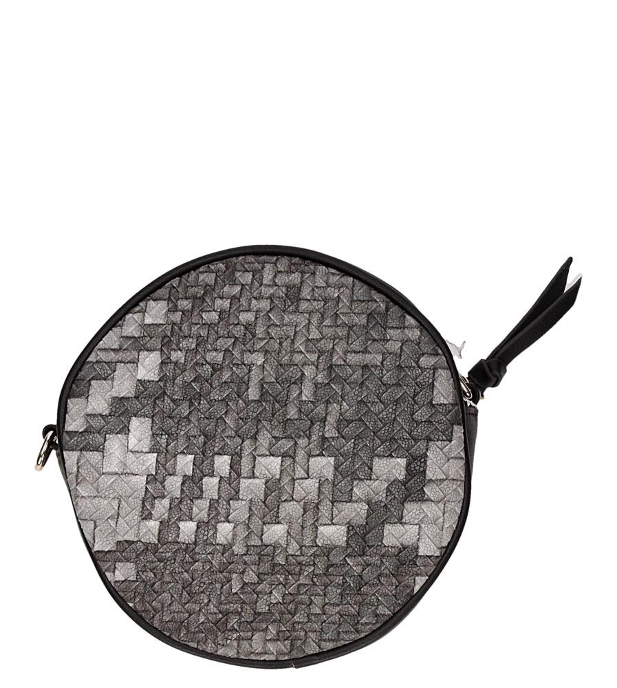 Damskie TOREBKA H054 czarny;multikolor;