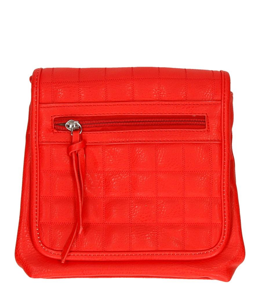 Damskie TOREBKA F6530 czerwony;;