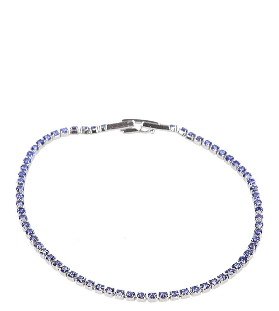 Damskie BRANSOLETA CK856942 srebrny;niebieski;