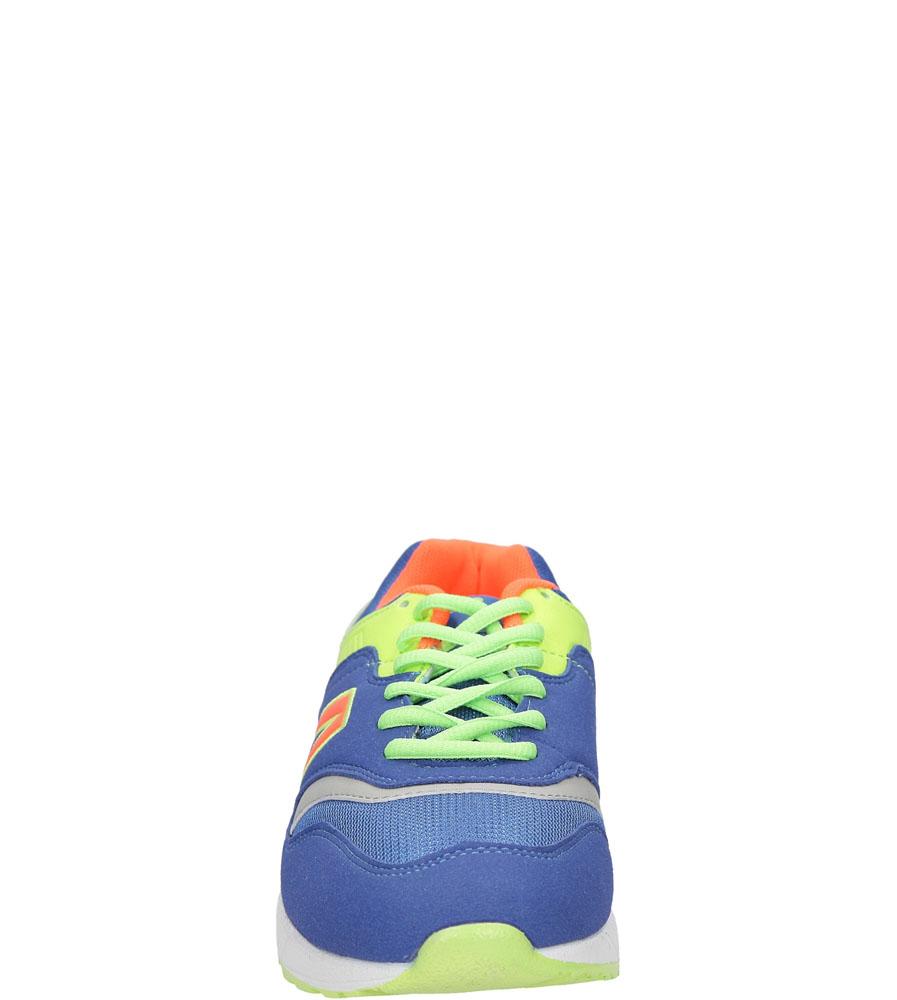 Męskie SPORTOWE LXC6942 niebieski;zielony;pomarańczowy