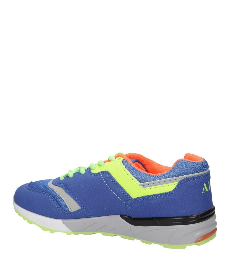 SPORTOWE LXC6942 kolor niebieski, pomarańczowy, zielony