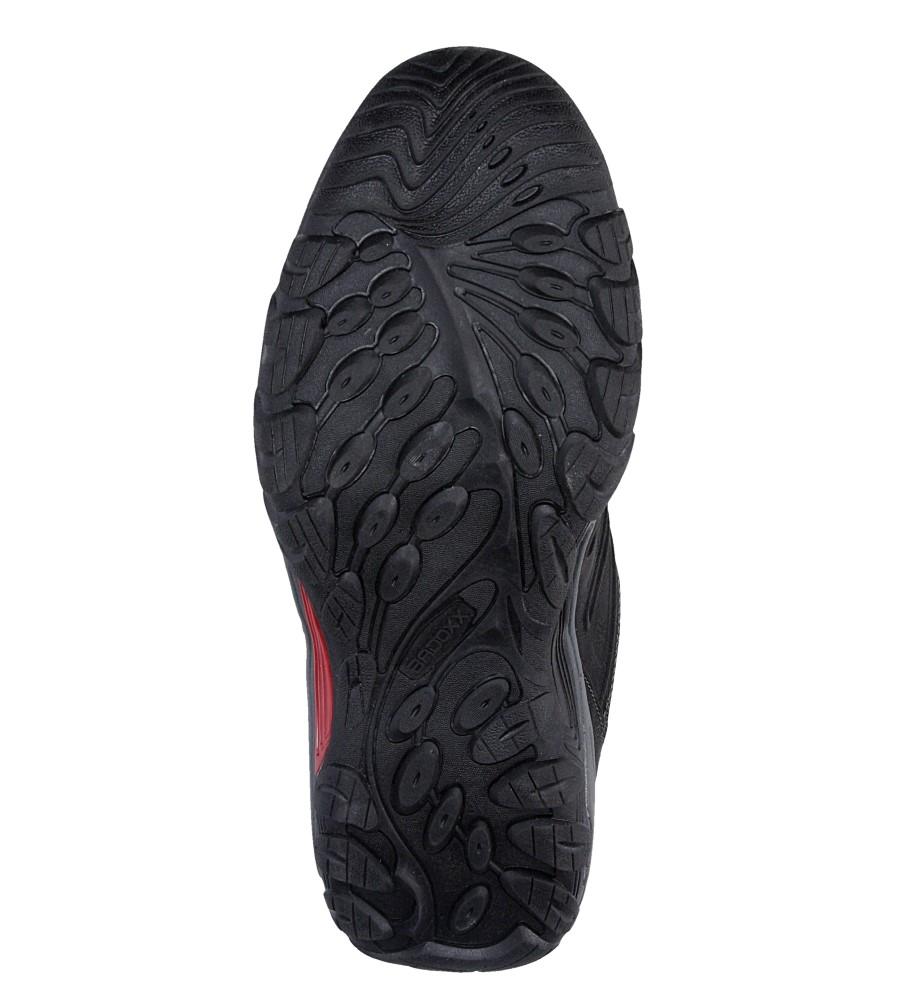 Męskie PÓŁBUTY CASU MXC6802 czarny;czerwony;
