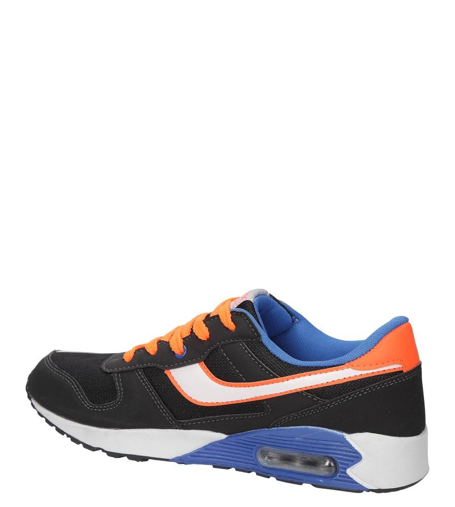 SPORTOWE CASU MXC7056 kolor czarny, niebieski, pomarańczowy