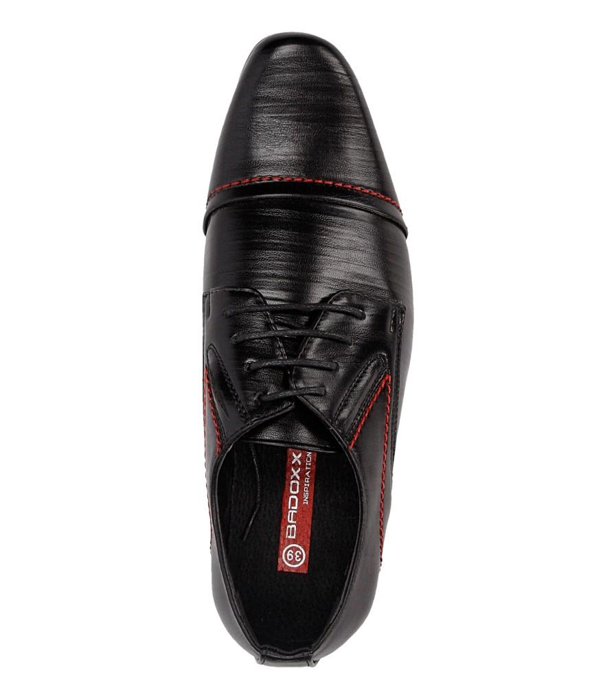 Męskie WIZYTOWE LXC310 czarny;czerwony;