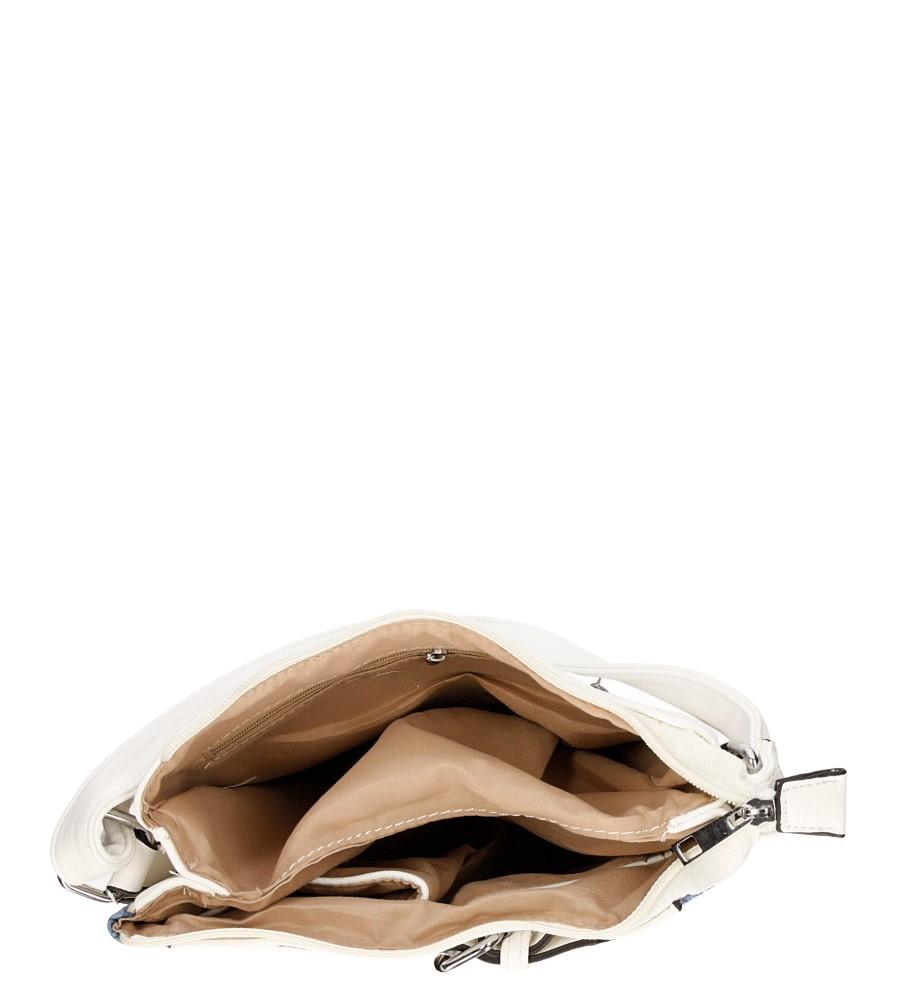 Damskie TOREBKA LISTONOSZKA D630 biały;multikolor;