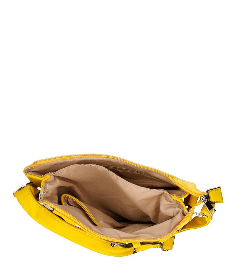 TOREBKA LISTONOSZKA D630 kolor multi kolor, żółty