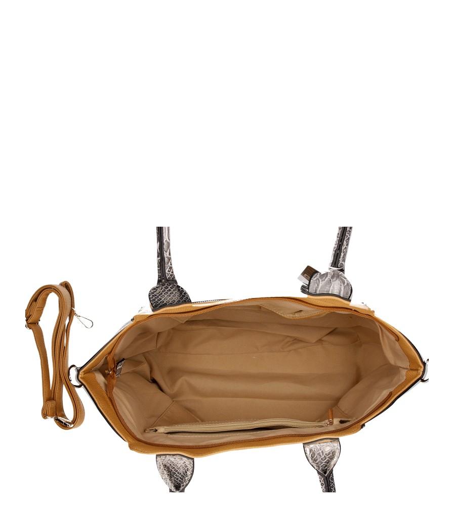 Damskie TOREBKA SP0245 brązowy;;