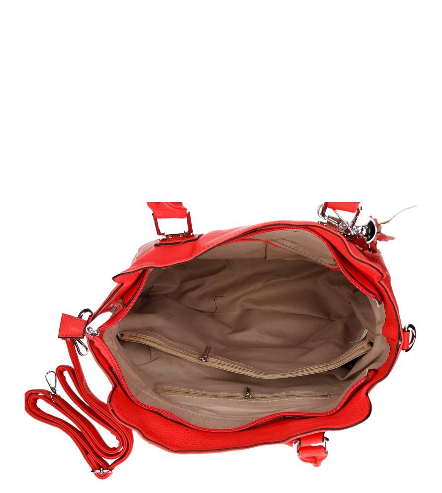 Damskie TOREBKA D632 czerwony;;