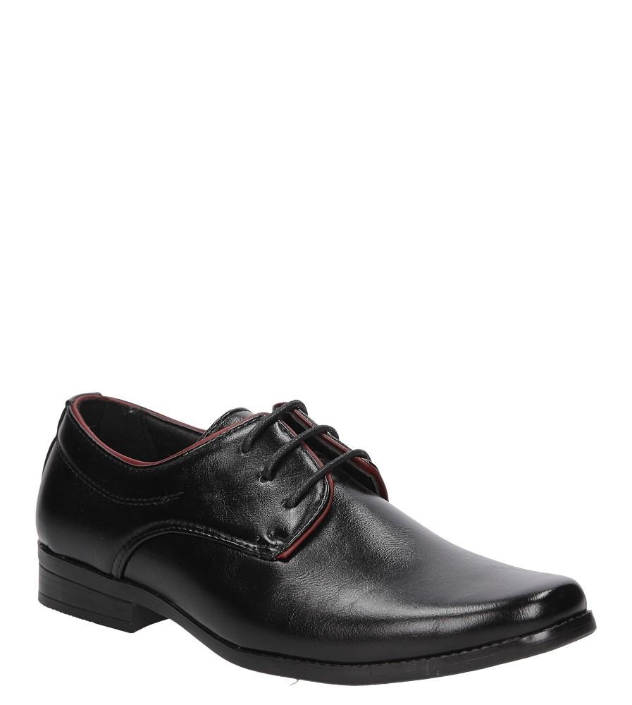 Czarne buty wizytowe Casu C137 producent Casu