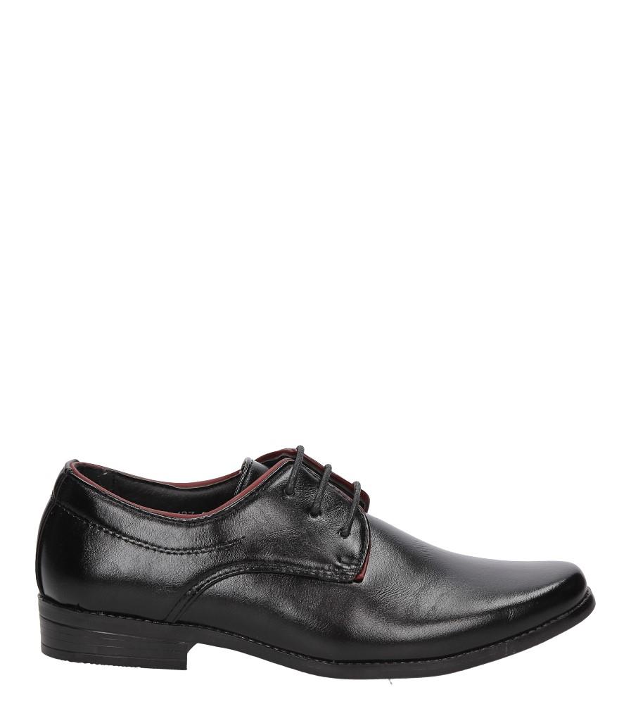 Czarne buty wizytowe Casu C137 model C137