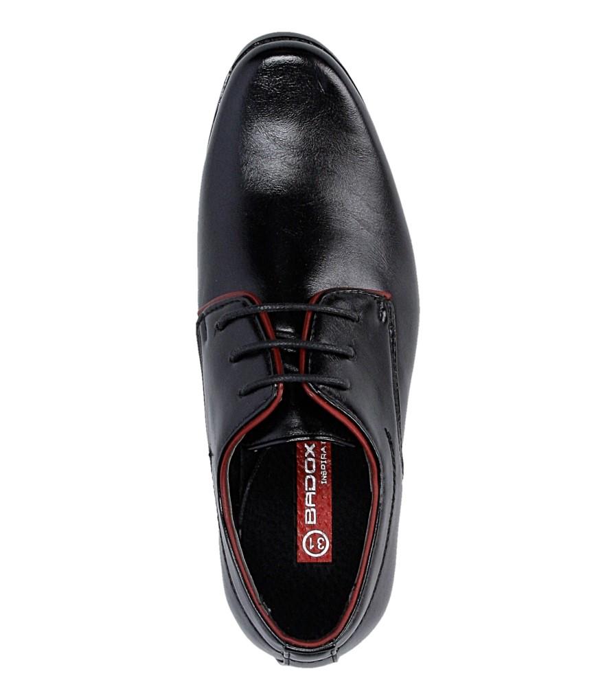 Czarne buty wizytowe Casu C137 wysokosc_obcasa 2.5 cm