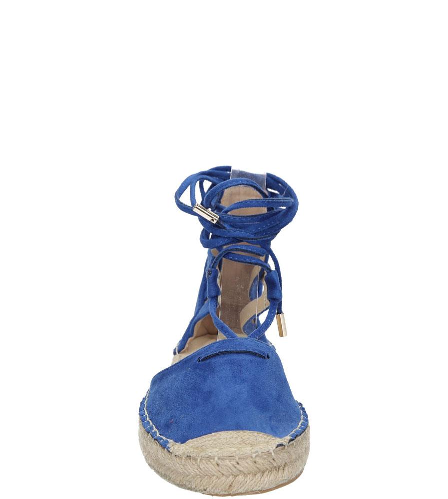 Damskie ESPADRYLE VICES 773 niebieski;;