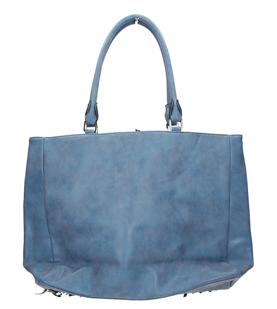 Damskie TOREBKA K111 niebieski;;