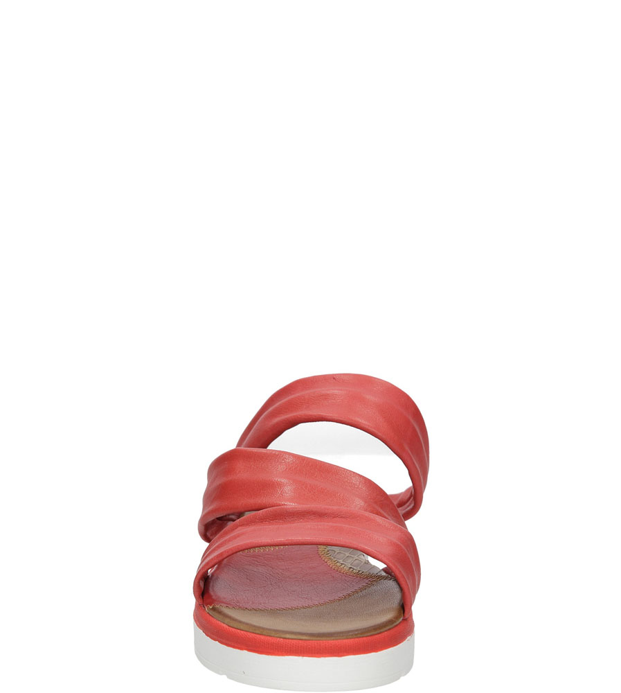 KLAPKI LAMELIA 38C1352 kolor czerwony