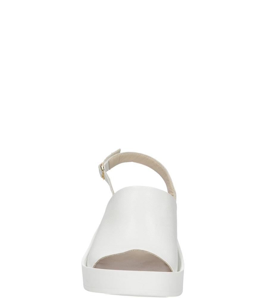 SANDAŁY LAMELIA 38C133 kolor biały