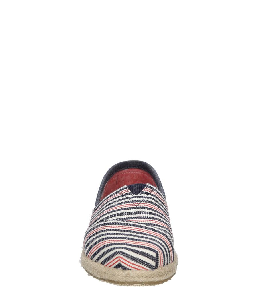 Damskie TOMSY TOMS CLASSIC 10008020 niebieski;czerwony;biały