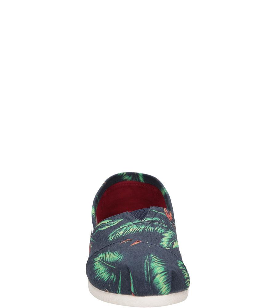 Damskie TOMSY TOMS CLASSIC 10008017 niebieski;;