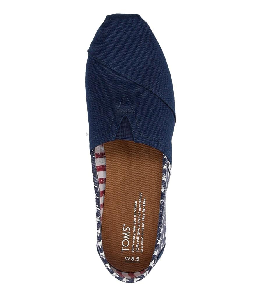 Damskie TOMSY TOMS CLASSIC 10007993 niebieski;;
