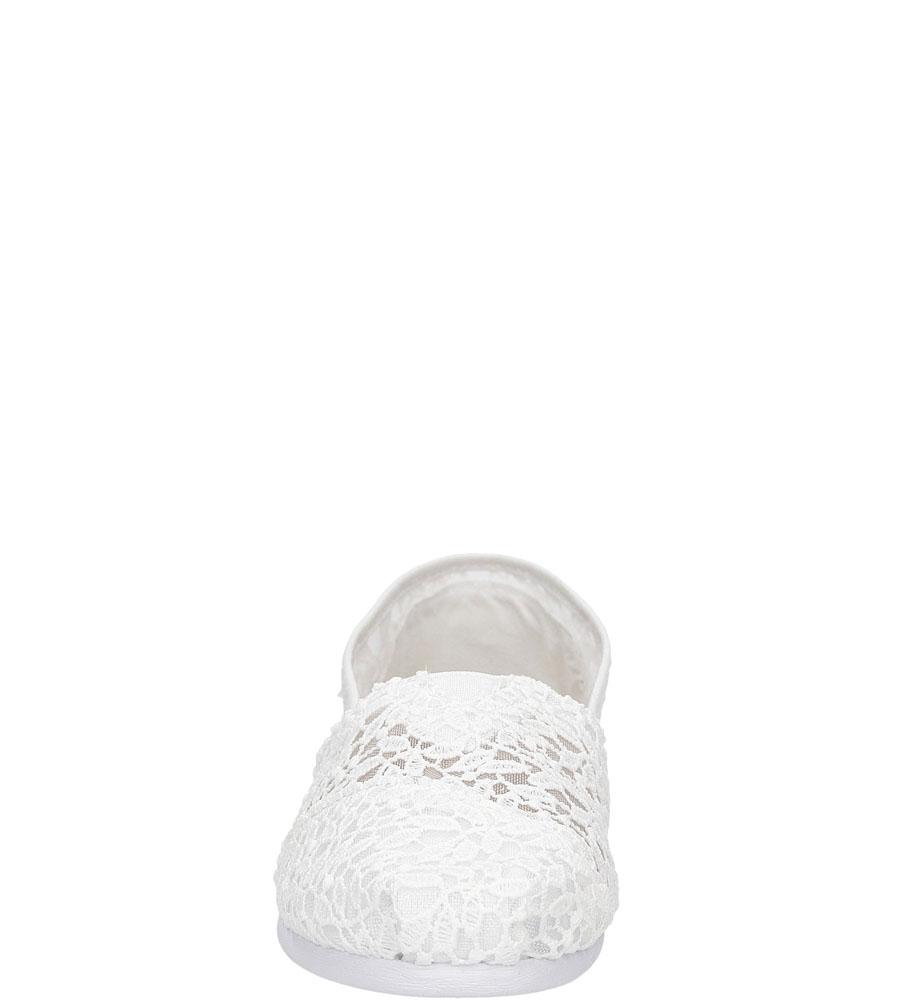 Damskie TOMSY TOMS CLASSIC 10008033 biały;;
