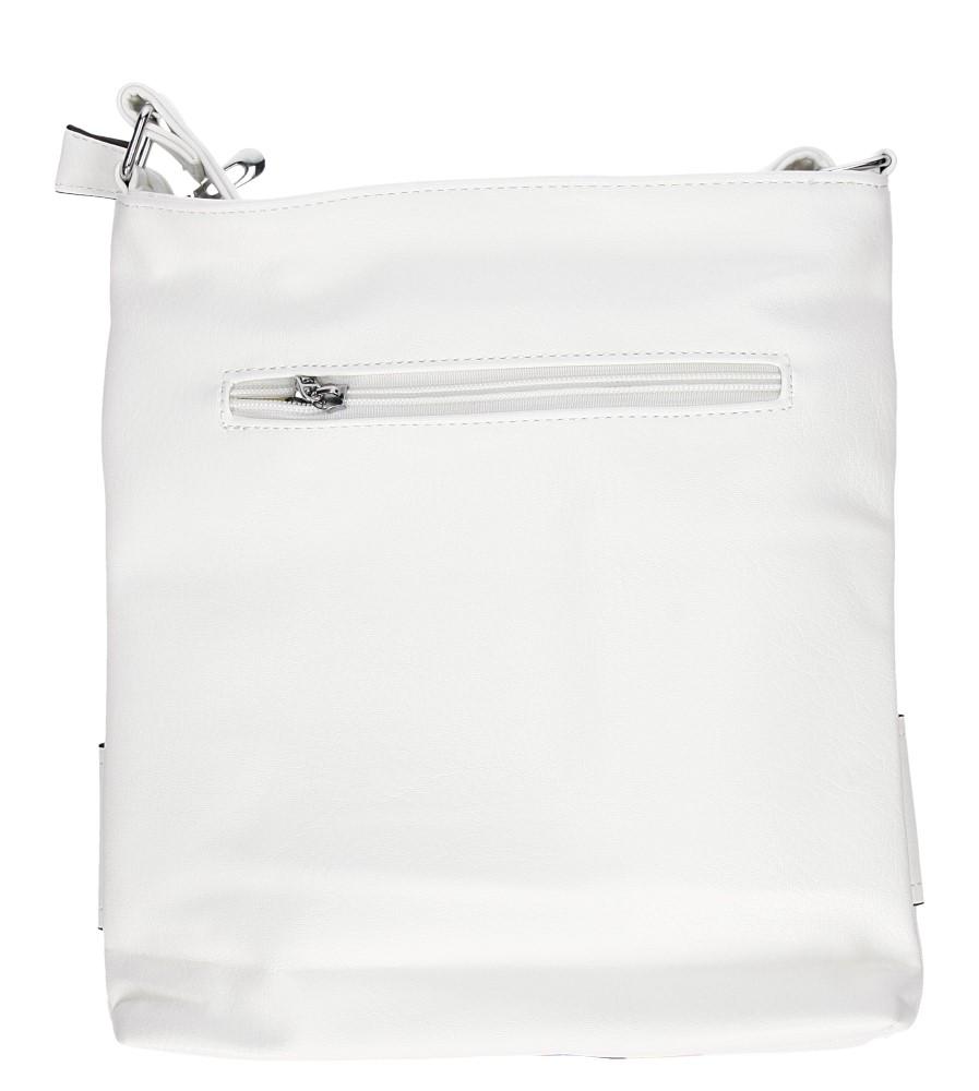 Damskie TOREBKA LISTONOSZKA MJ61 biały;;