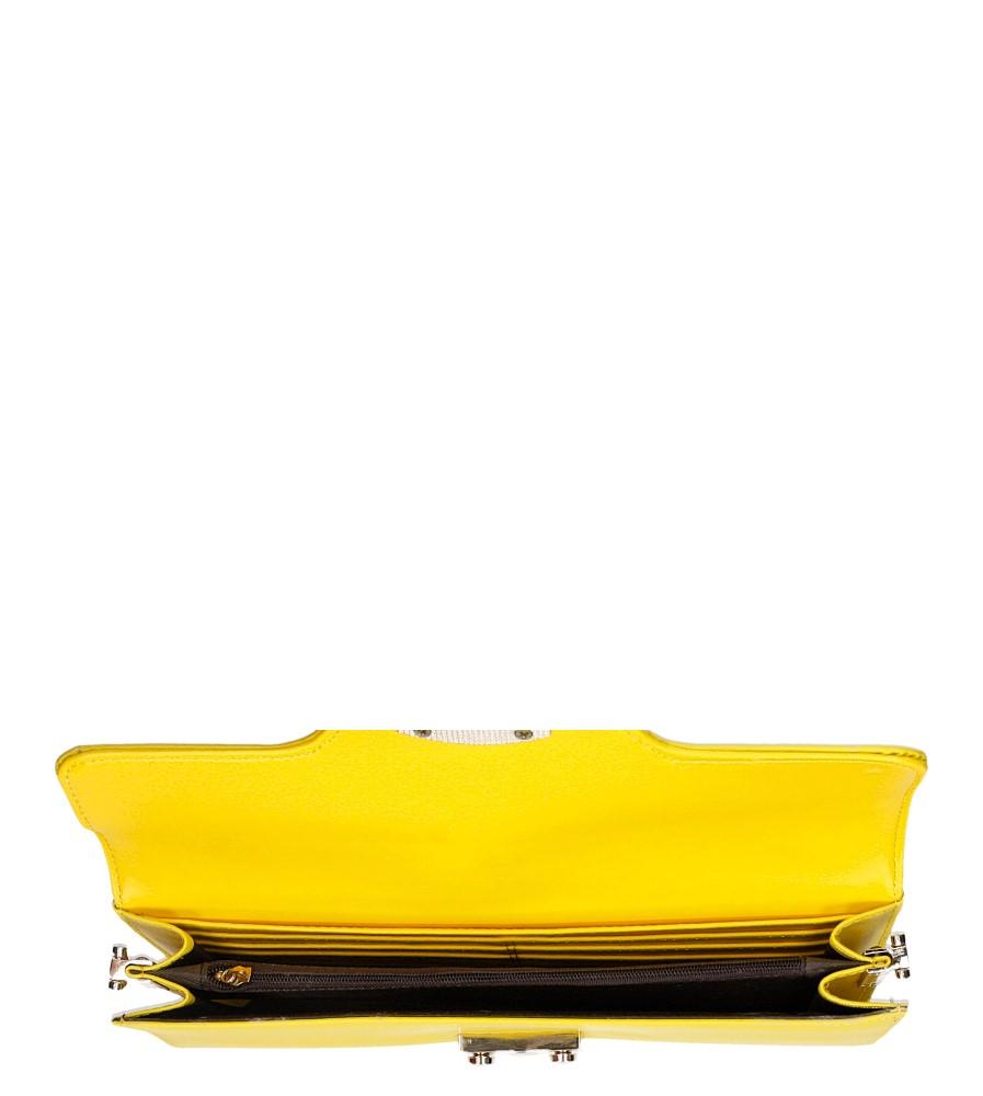 TOREBKA WIZYTOWA R96 kolor żółty