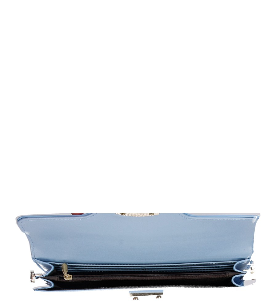 Damskie TOREBKA WIZYTOWA R96 niebieski;;