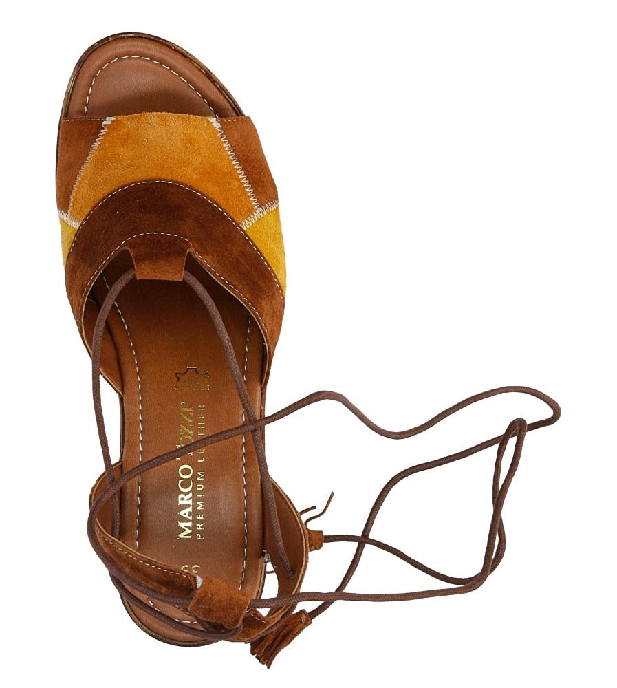 SANDAŁY MARCO TOZZI 2-28371-36 wys_calkowita_buta 15 cm