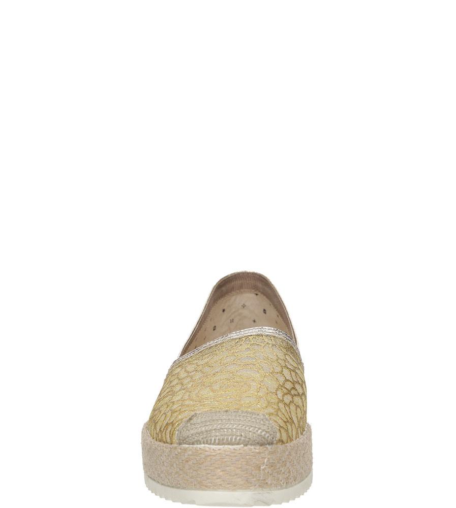 Damskie ESPADRYLE MARIO BOLUCCI IR5135 beżowy;złoty;