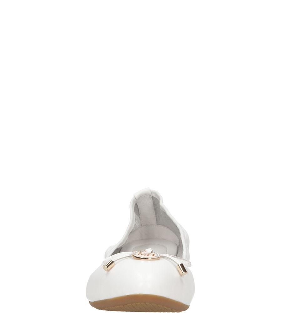 Damskie BALERINY MARIO BOLUCCI SE0305 biały;;