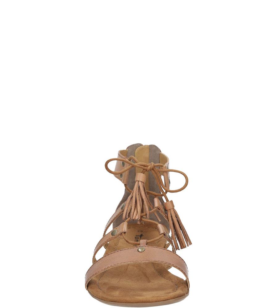 Damskie SANDAŁY TAMARIS 1-28113-36 brązowy;;
