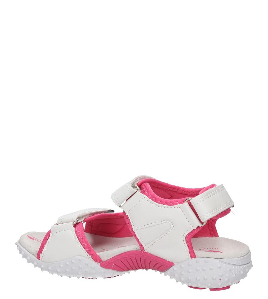 Dziecięce SANDAŁY AMERICAN Y01174 biały;różowy;