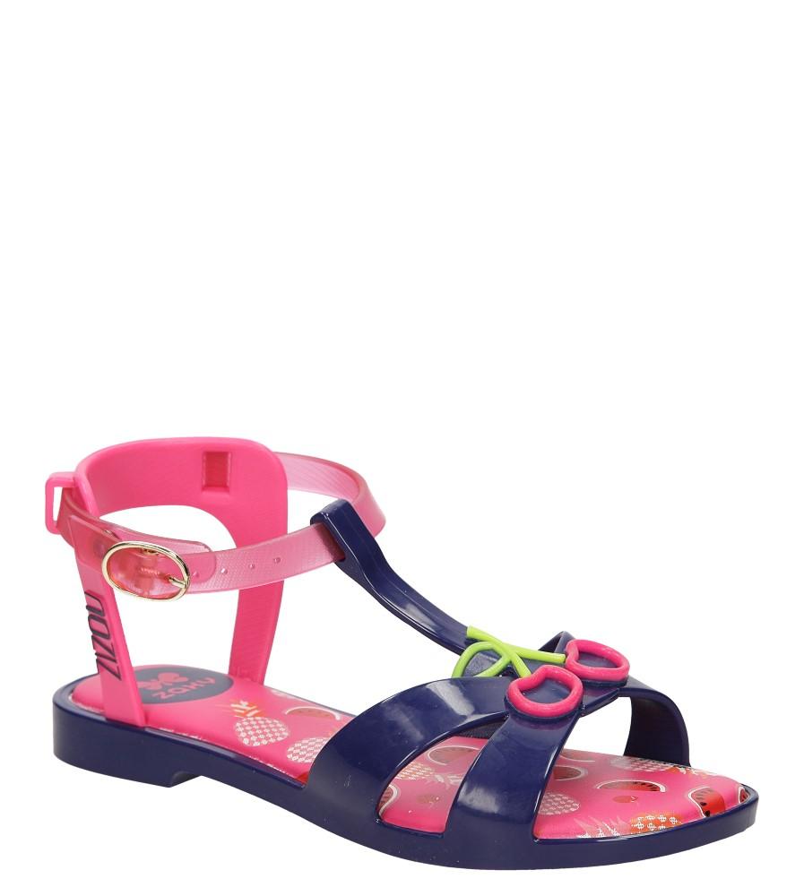 Dziecięce MELISKI ZAXY 81842 ZIZOU SANDAL KIDS niebieski;różowy;