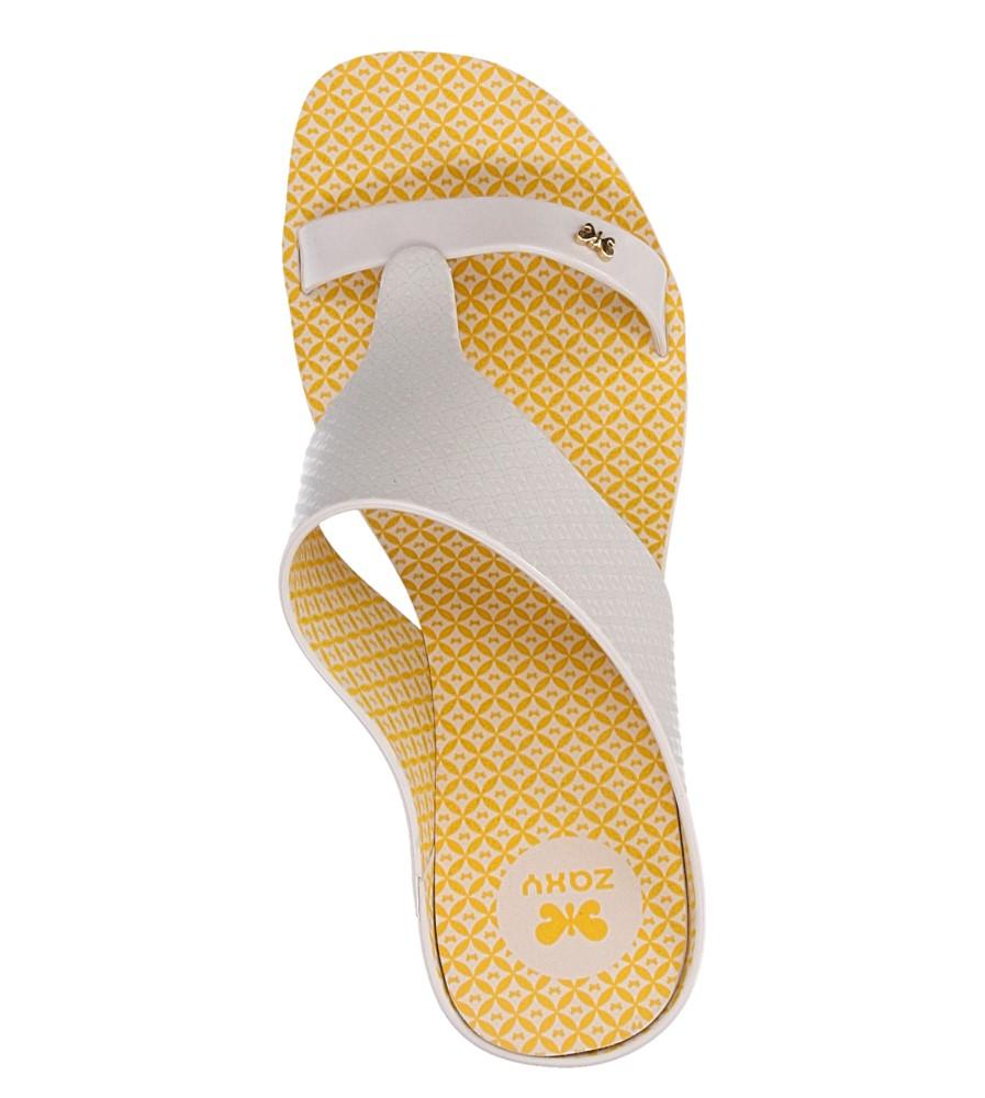 Damskie MELISKI ZAXY 81758 GLAMOUR TOP II FEM żółty;;