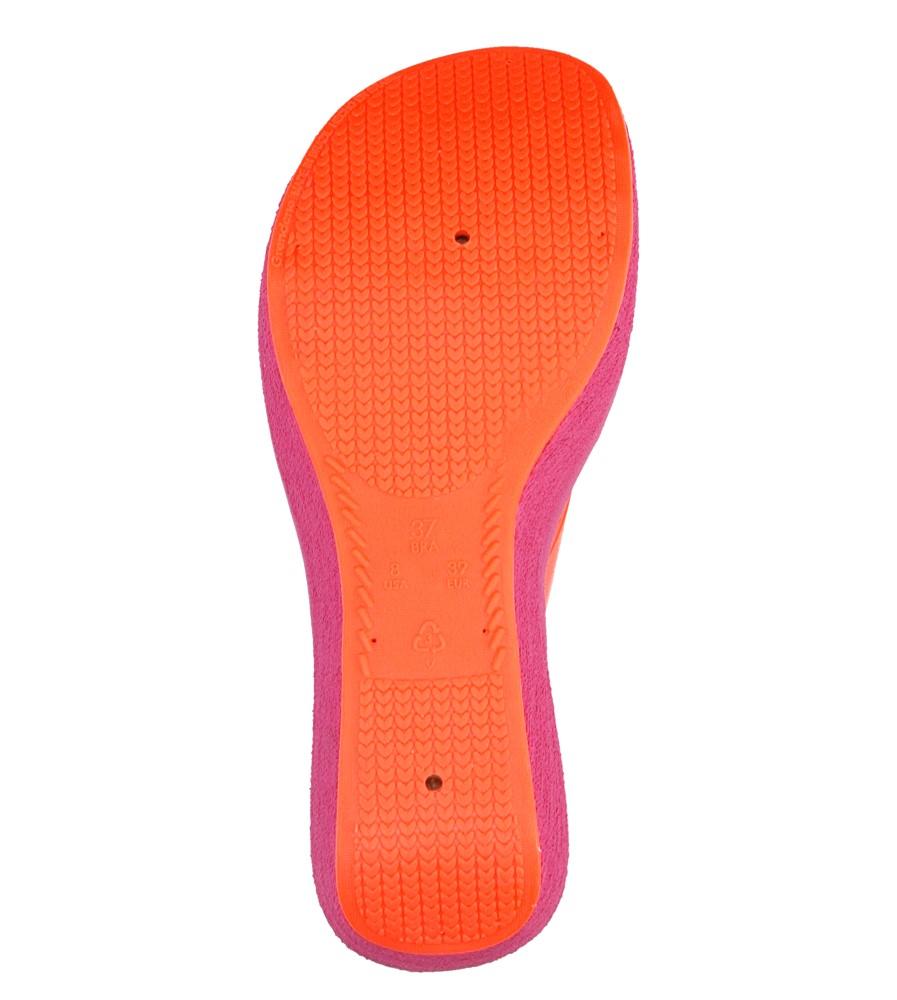 Damskie MELISKI ZAXY 81759 LIPSTICK IV FEM różowy;pomarańczowy;