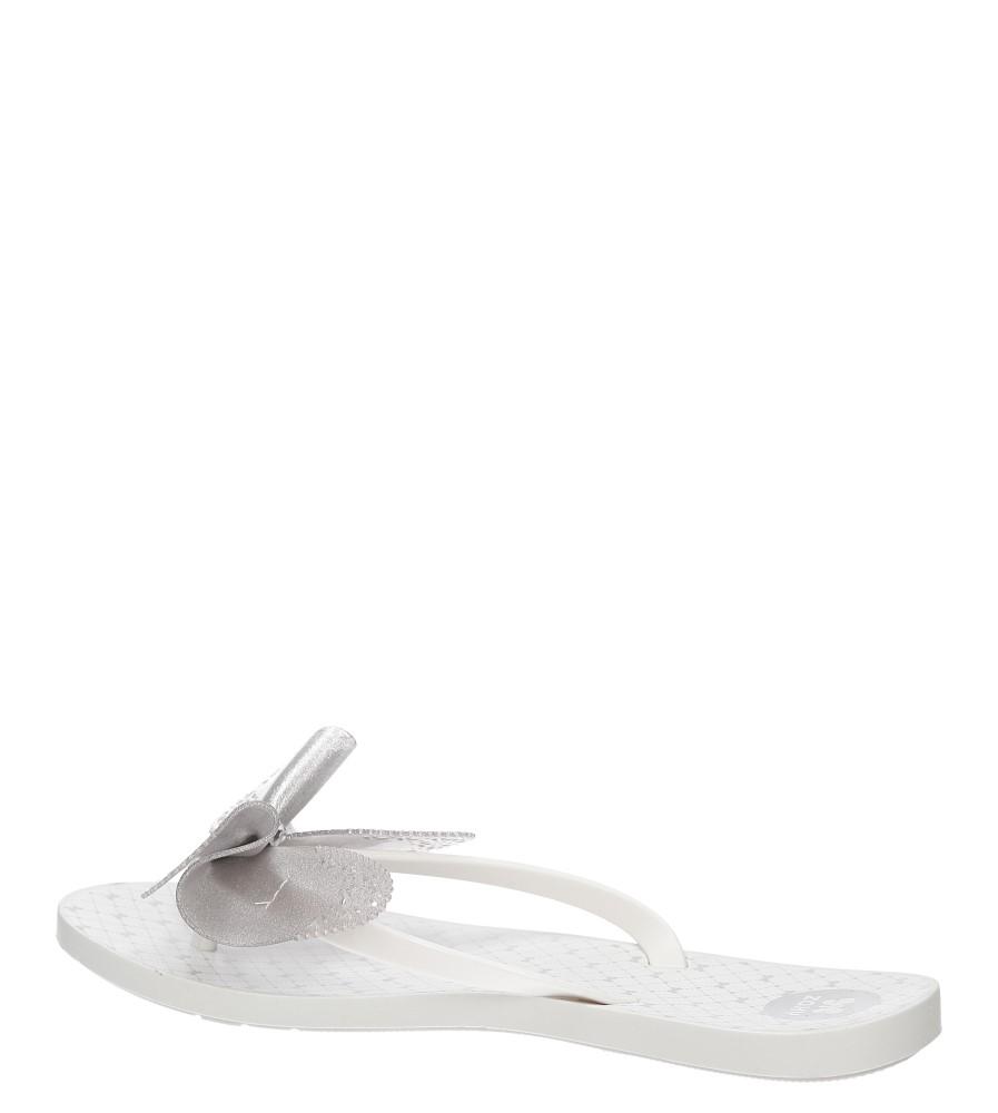 Damskie MELISKI ZAXY 81823 FRESCH BUTTERFLAY FEM biały;srebrny;