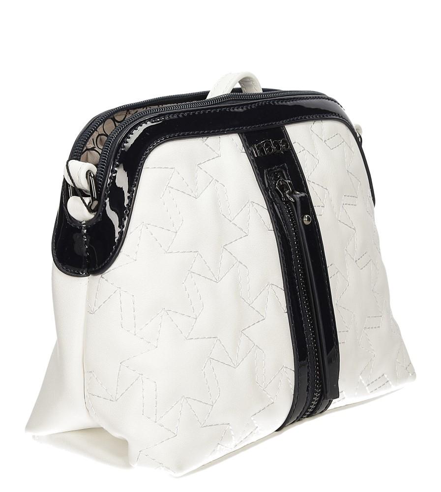 TOREBKA NOBO NBAG0950 kolor biały, czarny