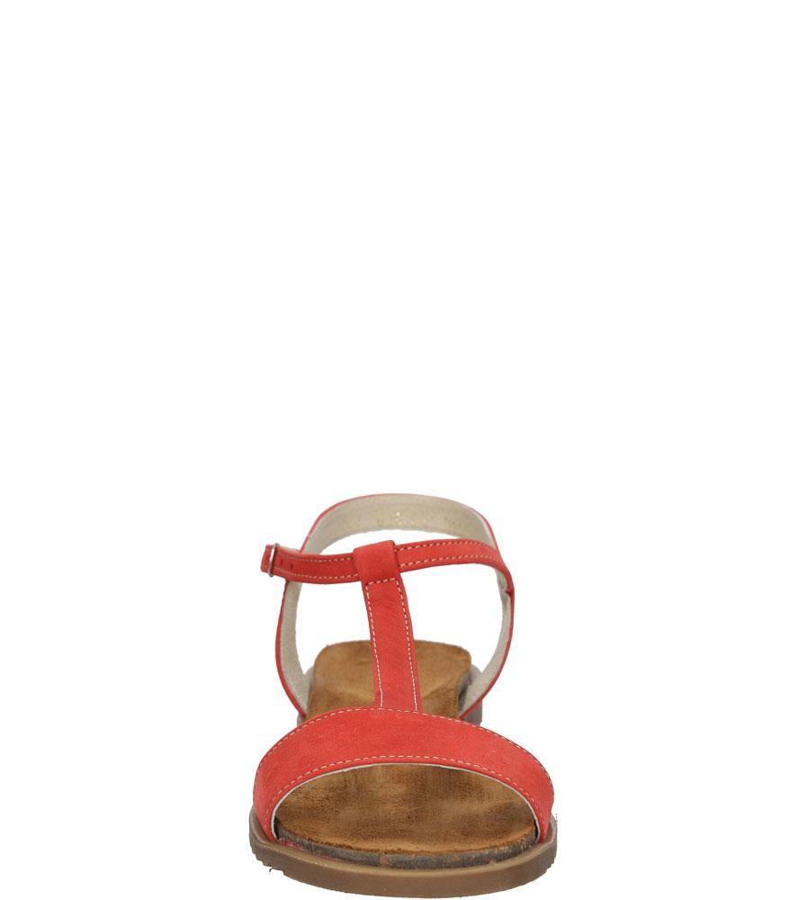 Damskie SANDAŁY CASU 3943 czerwony;;