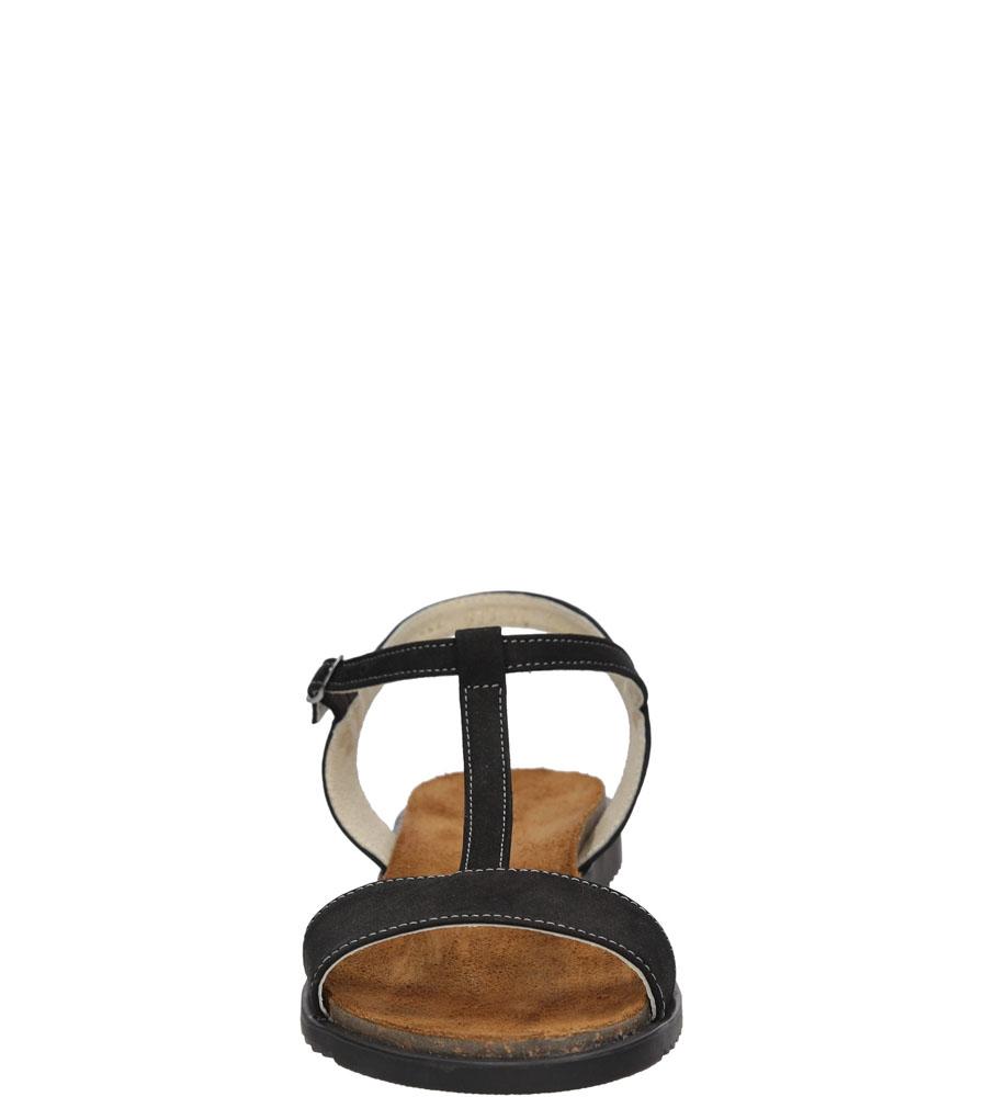 Sandały Casu 3943 kolor czarny