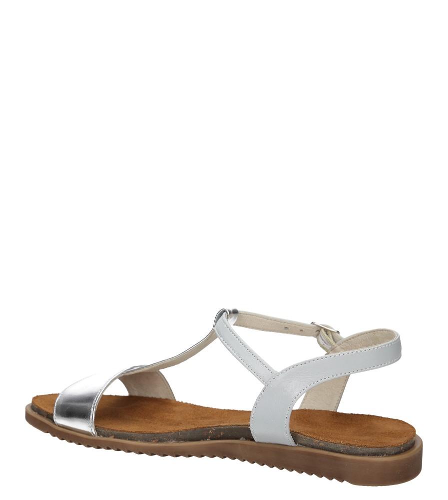 Sandały Casu 3943 wysokosc_obcasa 1 cm