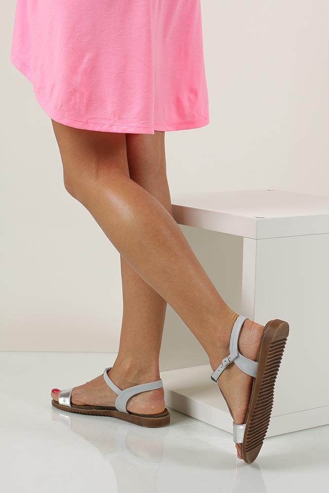 Sandały Casu 3943 wkladka skóra