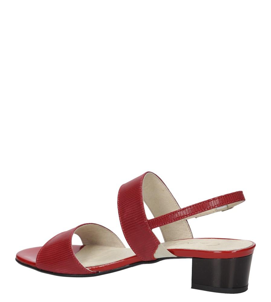 Sandały Casu 3447 kolor czerwony